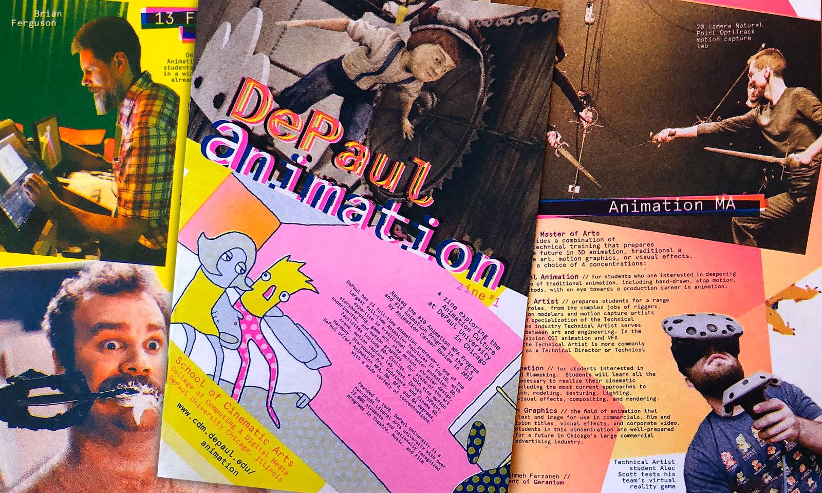 MA in Animation   DePaul CDM